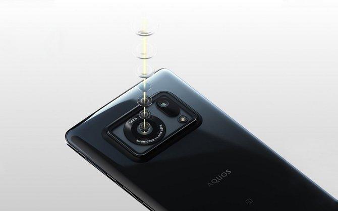 يحتوي هاتف شارب اكوس R6 الذكي على شاشة 240 هرتز وكاميرا حساس 1 بوصة