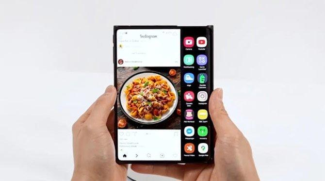 تعرض Samsung شاشات جديدة مرنة وقابلة للطي في الحدث 3
