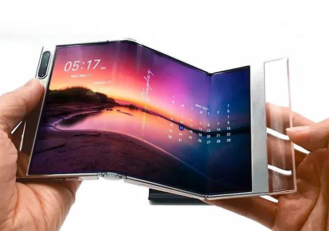 تعرض Samsung شاشات جديدة مرنة وقابلة للطي في الحدث 2