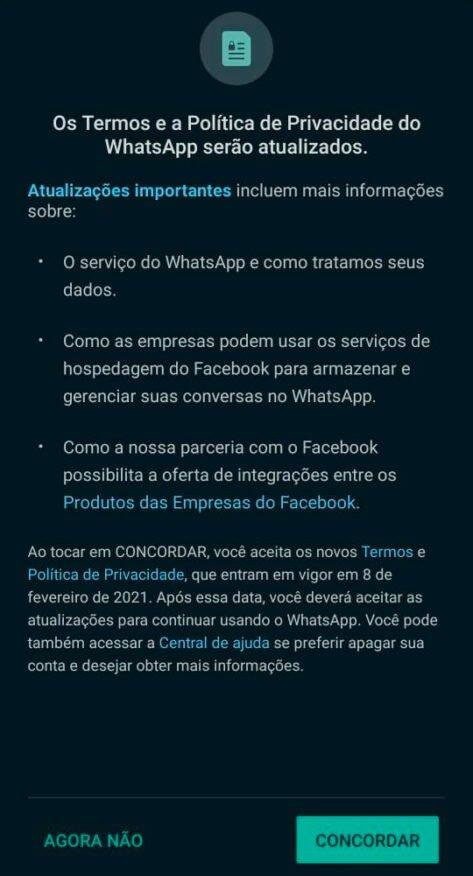 تعرف على ما يمكن إرسال بيانات WhatsApp إليه Facebook 2