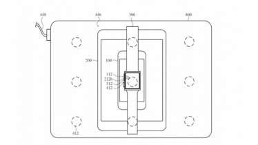 Apple براءة اختراع MacBook مع الشحن اللاسلكي لأجهزة iPhone و iPad و Watch 4