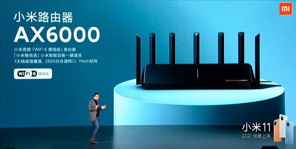 """أطلقت Xiaomi جهاز AX6000 بتقنية Wi-Fi 6 """"المحسّنة"""" ، أقوى جهاز راوتر جديد 3"""