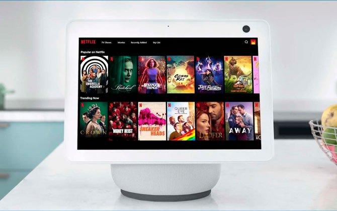 من الممكن الآن رؤية Netflix على شاشة Amazon عرض الصدى 3
