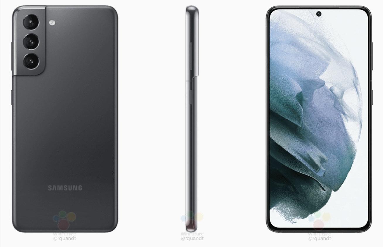 صور سامسونج Galaxy S21 و S21 + تسرب وإظهار تفاصيل الجهاز 2