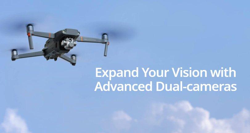 أطلقت DJI طائرة بدون طيار Mavic 2 Enterprise Advanced مع كاميرا حرارية جديدة وتقريب 32x 3