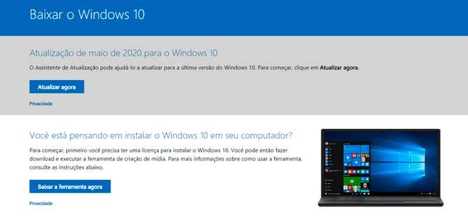 Windows 10 قد تحديث: خطوة بخطوة للتحديث اليدوي 5