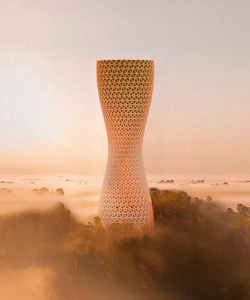 تقوم الشركة بتطوير أبراج تنقية الهواء في عاصمة الهند 3
