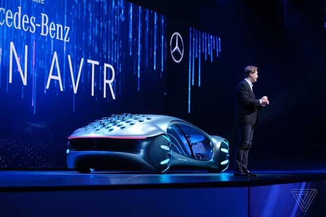 تقدم مرسيدس-بنز Vision AVTR ، سيارة المستقبل المستوحاة من فيلم Avatar 3