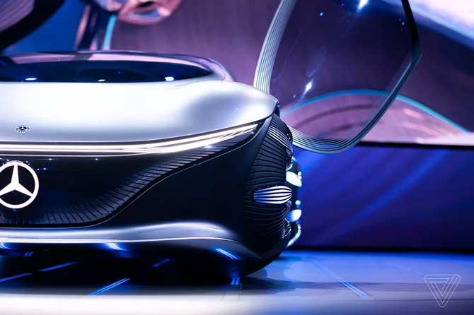 تقدم مرسيدس-بنز Vision AVTR ، سيارة المستقبل المستوحاة من فيلم Avatar 2