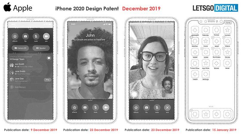 سيأتي iPhone 2020 باتصال 5G وكاميرا أسفل الشاشة - بدون شق 2