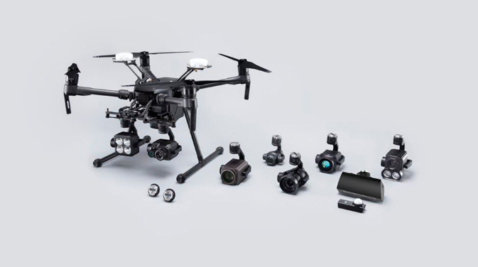 DJI تطلق مستشعر الكاميرا الحرارية والمنصة المعيارية للطائرات بدون طيار الخاصة بالمؤسسات 4