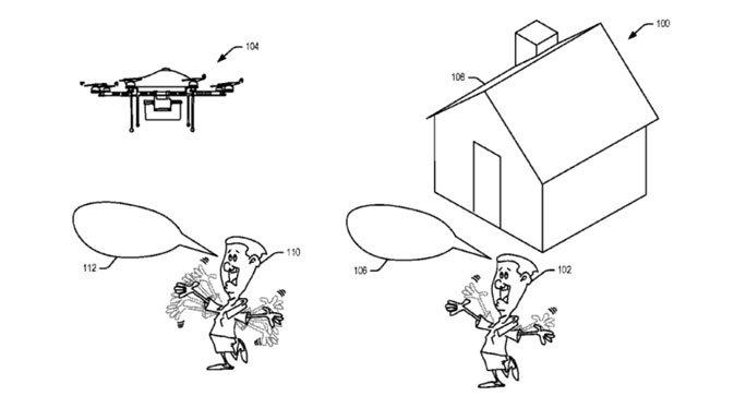 براءة اختراع Amazon يشير إلى تطوير الطائرات بدون طيار التي تفهم الإيماءات البشرية 2