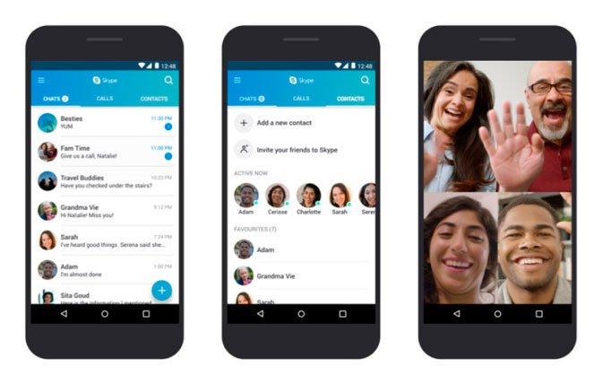 سوف تقوم Microsoft بالتحسين Skype للتشغيل بشكل أفضل على أجهزة Android القديمة 2