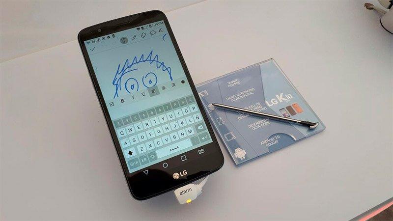 تحديثات LG smartphones K10 وتطلق الموديلات الجديدة LG K10 Pro و LG K10 Power 2