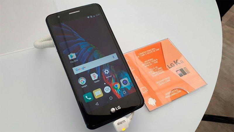 تحديثات LG smartphones K10 وتطلق الموديلات الجديدة LG K10 Pro و LG K10 Power 5