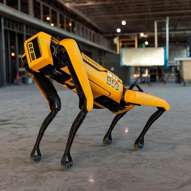 شاهد الكلب الآلي من Boston Dynamics أثناء التدريب مع الجيش الفرنسي 2