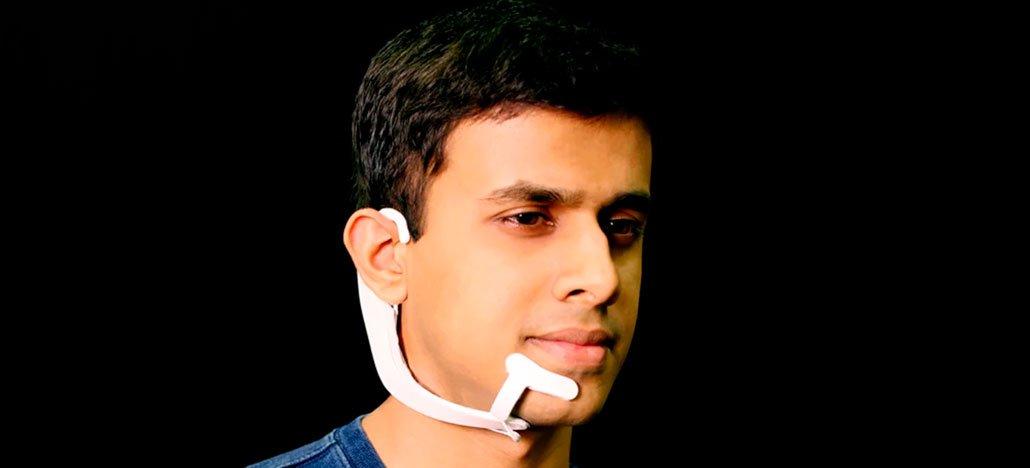 AlterEgo هي سماعة الرأس التي صنعها معهد ماساتشوستس للتكنولوجيا والتي يمكنها سماع أفكارك 1