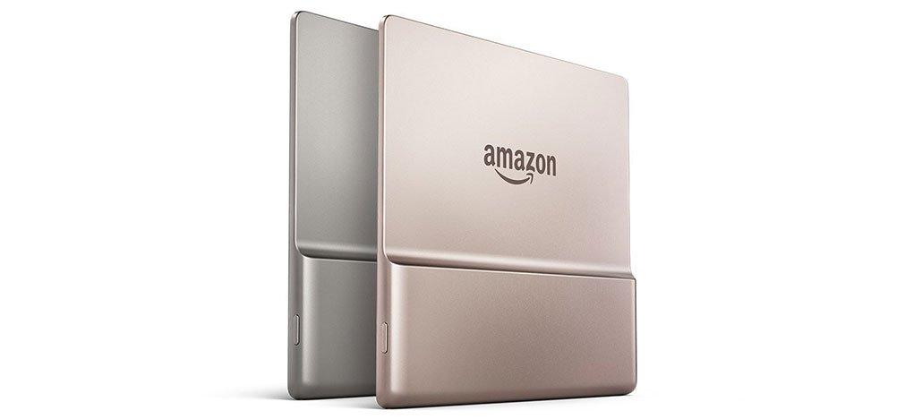 Amazon رمح Kindle واحة بلون ذهبي جديد 1