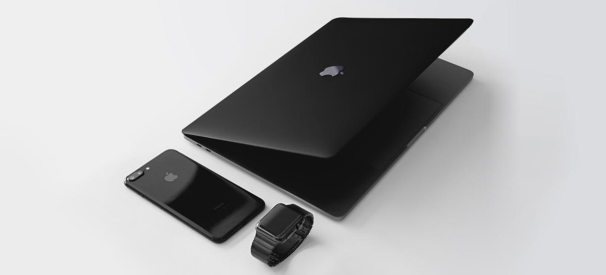 Apple براءة اختراع MacBook مع الشحن اللاسلكي لأجهزة iPhone و iPad و Watch 1