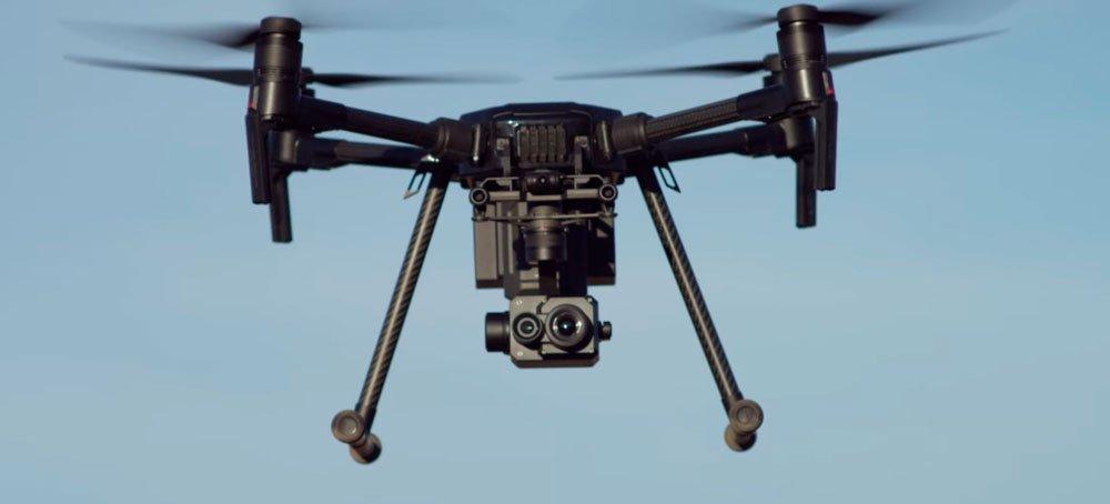 DJI تطلق مستشعر الكاميرا الحرارية والمنصة المعيارية للطائرات بدون طيار الخاصة بالمؤسسات 1