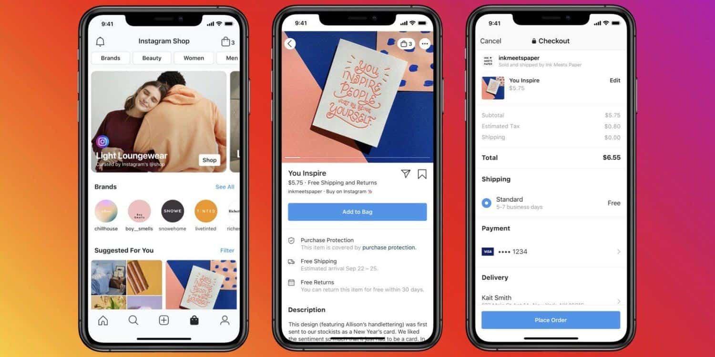 Facebook تم إطلاق المتاجر: متجر افتراضي متصل بـ Instagram و WhatsApp 1