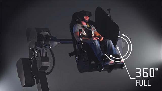 MMOne هو محاكي الواقع الافتراضي المعلق الذي يعزز بشكل كبير تجربة تطبيق VR 1