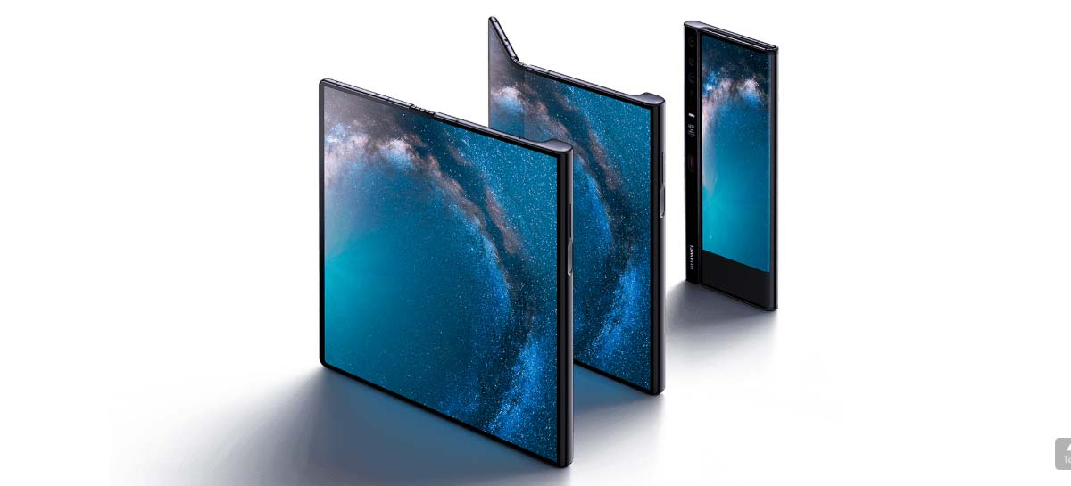 Mate X: تبيع Huawei 100،000 وحدة هاتف محمول قابلة للطي شهريًا 1