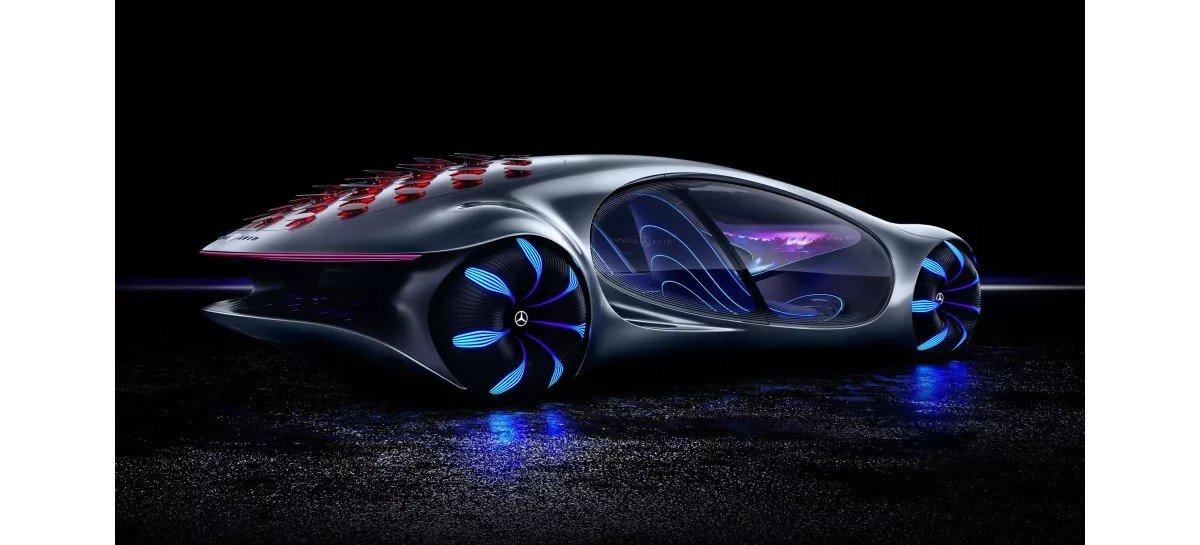 Mercedes-Benz Vision AVTR: يمكن قيادة سيارة المستقبل بقوة العقل 1