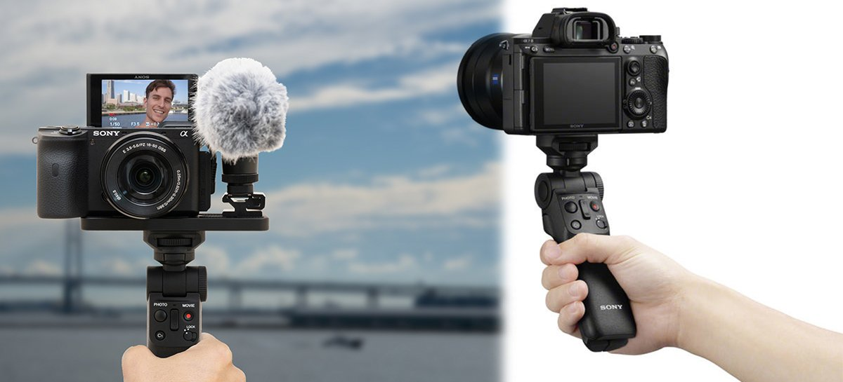 Sony GP-VPT2BT هو حامل كاميرا مزود بخاصية اتصال Bluetooth 1
