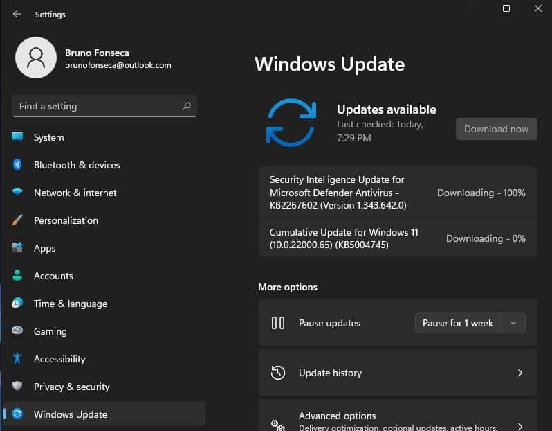 windows  11 مفتاح اختصار